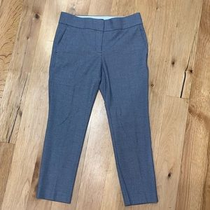 Petite Loft Marisa navy dress pants EUC 2P